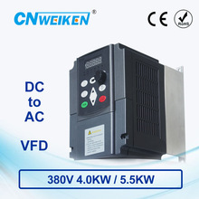 WK310 Vector Control frequency converter DC 400V-700V to 380V 4kw5.5kw solar pump inverter with MPPT control