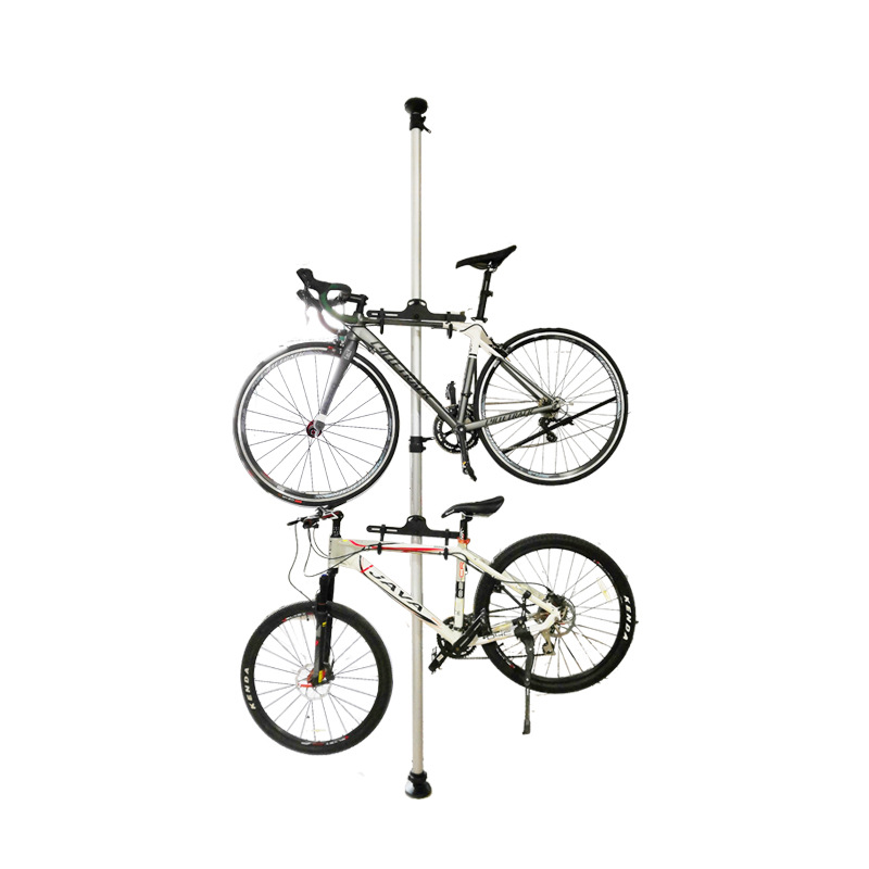 Bicycle Display Rack Upright Column Bike Rack Bicycle Display Stand Retractable Rack Bicycle Rack Sports