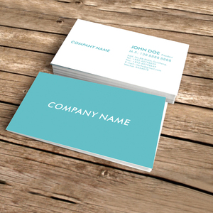 Image 2 - custom black business card printing free design and full color  two sided printing Personalized customized business cards