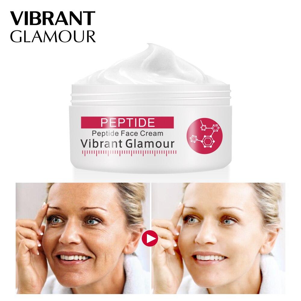 VIBRANT GLAMOUR Argireline Face Cream Anti Aging wrinkle Whitening Moisturizing Collagen Firming skin for women skin care 30g 3