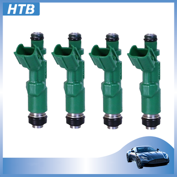 4pcs/lot High Quality Car Parts 23250-21020 Fuel Injector Nozzle For Toyota Prius Vitz Yaris 4cyl 1.5L 2325021020 23209-21020 car parts 23250 0c090 fuel injector nozzle high impedance for toyota tundra 02 14