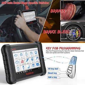 Image 5 - Aute OBD2 skaner samochodów narzędzie diagnostyczne Auto MaxiDAS DS808K czytnik kodów lepiej DS808 DS708 funkcjonalne lepiej niż uruchom x431
