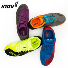 цена на Men off-road sports running shoes mens professional racing shoes Marathon lightweight GYM runing training sneakers INOV-8