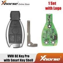 Xhorse VVDI быть Pro улучшенная версия со смарт-ключ оболочки 4 кнопки для Benz с логотипом и получи 1 бесплатно маркер для программатор VVDI MB Tool