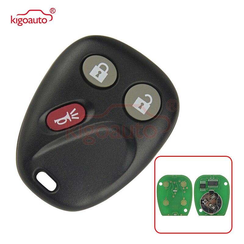 Remote fob 3 button 315Mhz LHJ011 for GMC Sierra Yukon Yukon XL 2003 2004 2005 2006 kigoauto buttons buttons buttons 3 button remote - title=