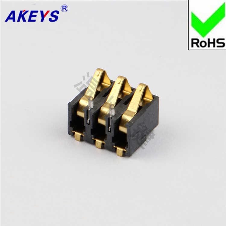 15 шт. держатель батареи Разъем Цифровой коннектор 3PIN BC 04 3P 7 медь высокая