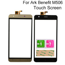 цена на Mobile TouchScreen For Ark Benefit M506 Touch Screen Digitizer Panel Sensor Tools 3M Glue Wipes Touch