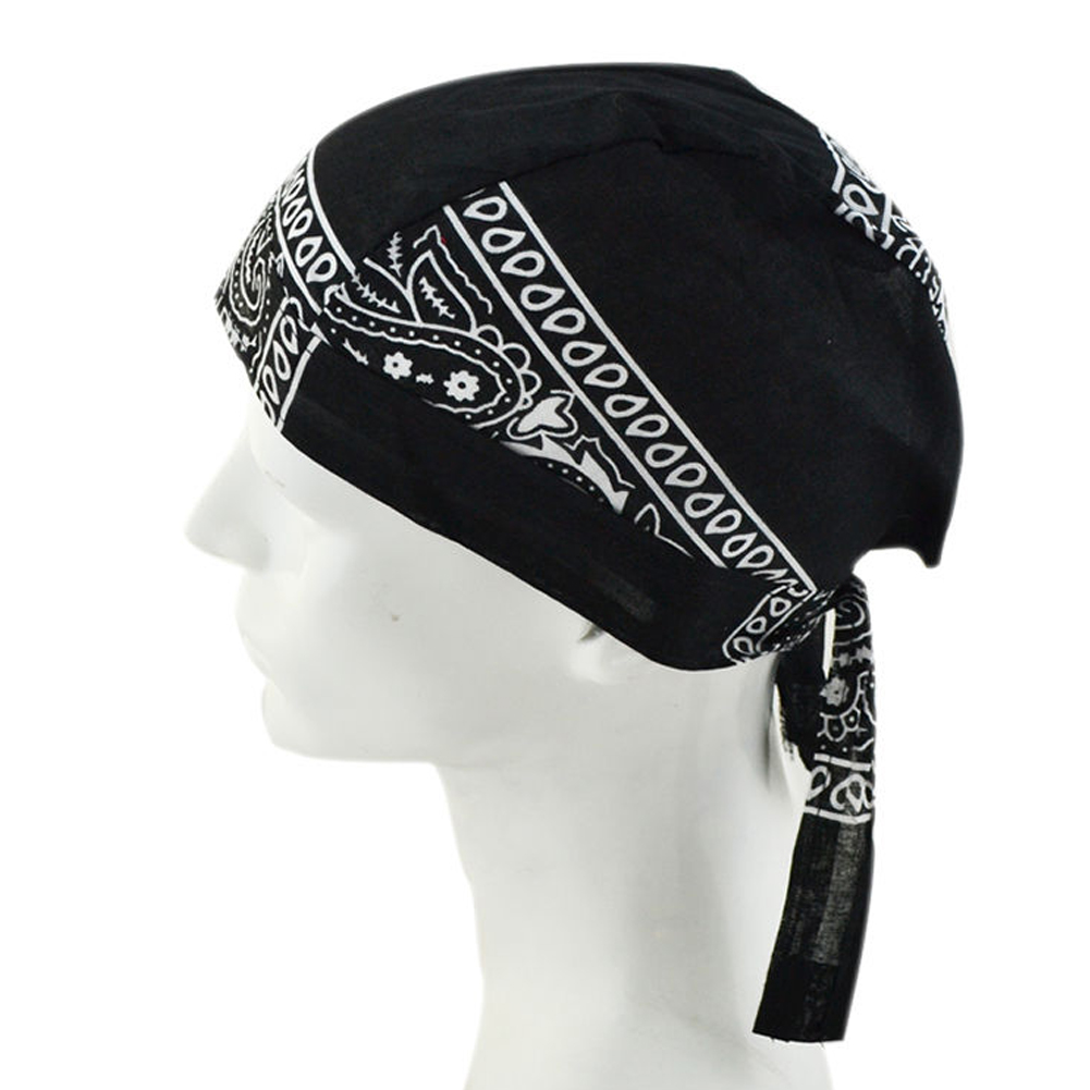 Multi Use Breathable Beanie Snood White Black Red Skull Cap Hip Hop  Scarves Cap UV Face Bandanas Motorcycle Pirate Scarf~