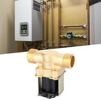 цена на Solenoid Valve Copper Electromagnetic Valve Industrial Accessory 1/2-Inch for Solar Water Heaters Solenoid