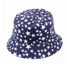 Панама хлопковая для мужчин и женщин двусторонняя пляжная шляпа