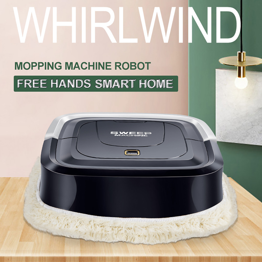Automatic Mini Vacuuming Robot Household Appliances Charging Sweeper Robot Cleaner Display Cleaning Helper Tools