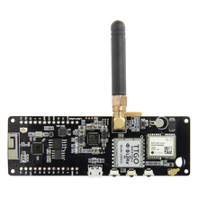 LILYGO®TTGO T Beam V1.1 ESP32 433/868/915/923Mhz واي فاي سماعة لاسلكية تعمل بالبلوتوث وحدة تحديد المواقع NEO 6M SMA LORA 32 18650 حامل بطارية