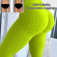 Mallas de compresión Anti celulitis opresion malla quemador de grasa diseño pérdida de peso polainas de Yoga compresión productos adelgazantes