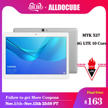 ALLDOCUBE M5X 10 1 inch Android Tablet MTK X27 4G LTE 10 Core Phone Call Tablets