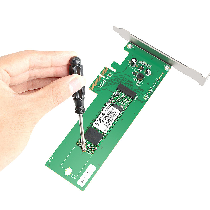 Maiwo (Maiwo) KT016L Desktop Computer PCI-E X4 Turn Ngff Riser Card Expansion Card