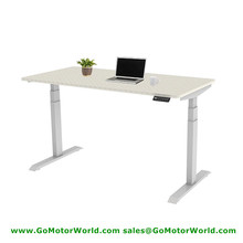 Free shipping to USA electric office desk mini height 560mm max 1210mm 35mm/s speed 100KG lift