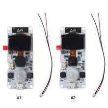 Módulo de cámara TTGO t camera ESP32 WROVER y PSRAM ESP32 WROVER B OV2640 módulo de cámara 0,96 OLED X6HB