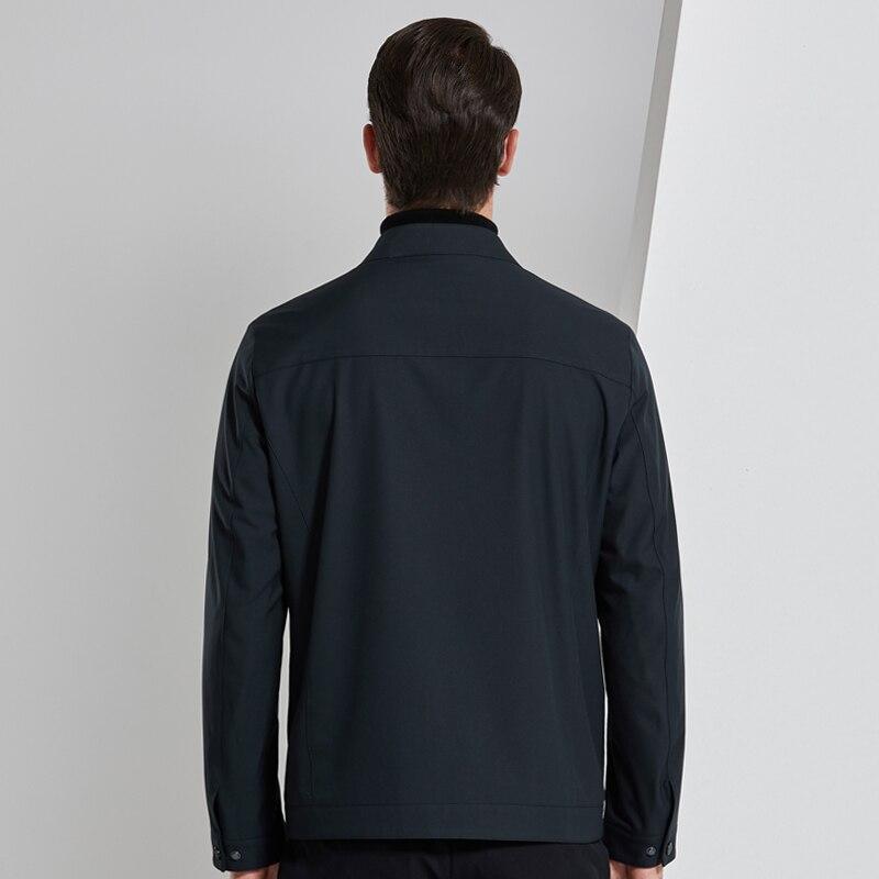 2019 4XL весна осень повседневный мужской жакет Мужская куртка ветровка пальто Мужская s куртка Брендовые мужские костюмы - 4