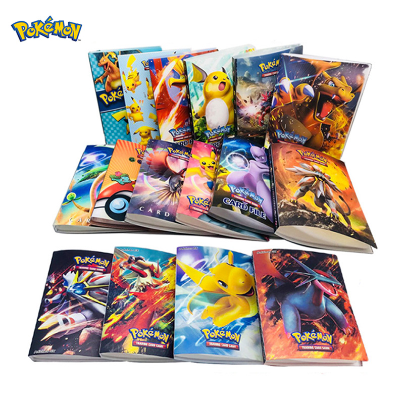 Original TAKARA TOMY Pokemon Card Holder Card Album Pokecard Box 240pcs Card Case