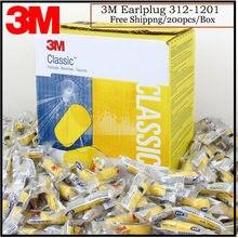 Tapones para los oídos para dormir/estudio 3M, 312-1201, clásicos, de PVC, pequeños, para dormir, antiruido, color amarillo, VEN001
