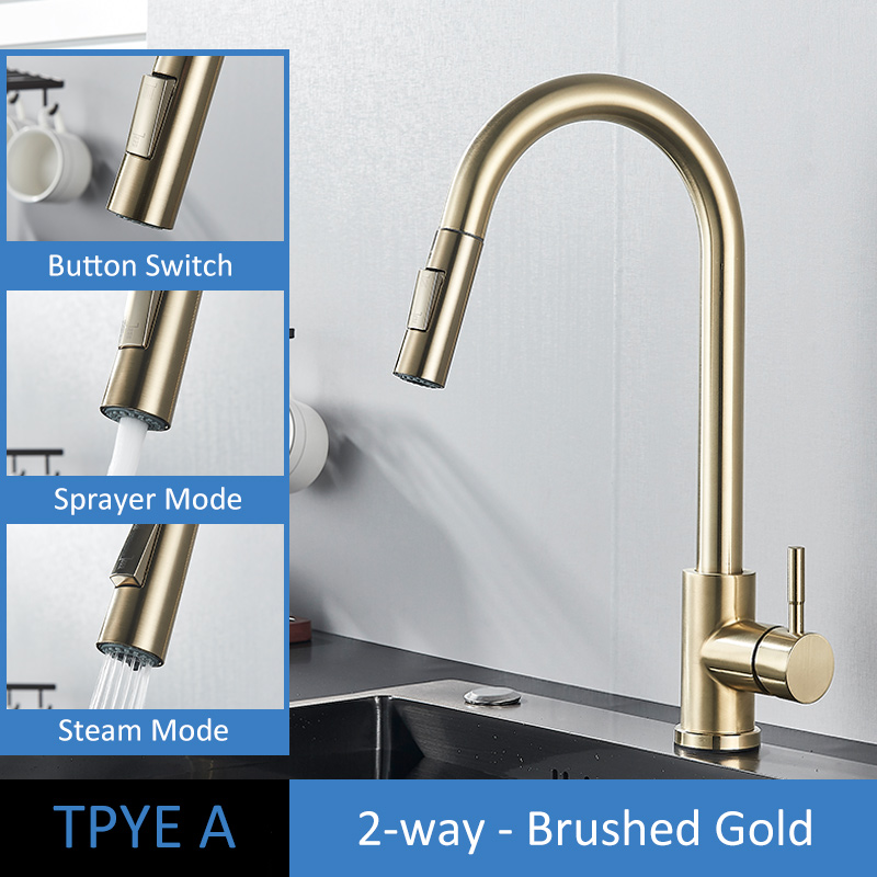 TYPE A Brush Gold