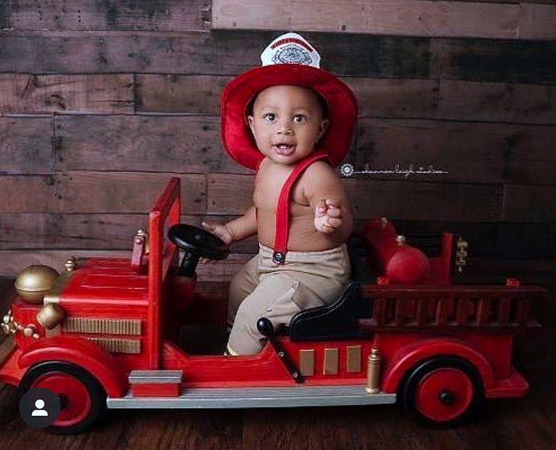 0-6T Children Car Four-wheel Car Children Baby Photography Prop Retro Style  Multifunction Baby Sets