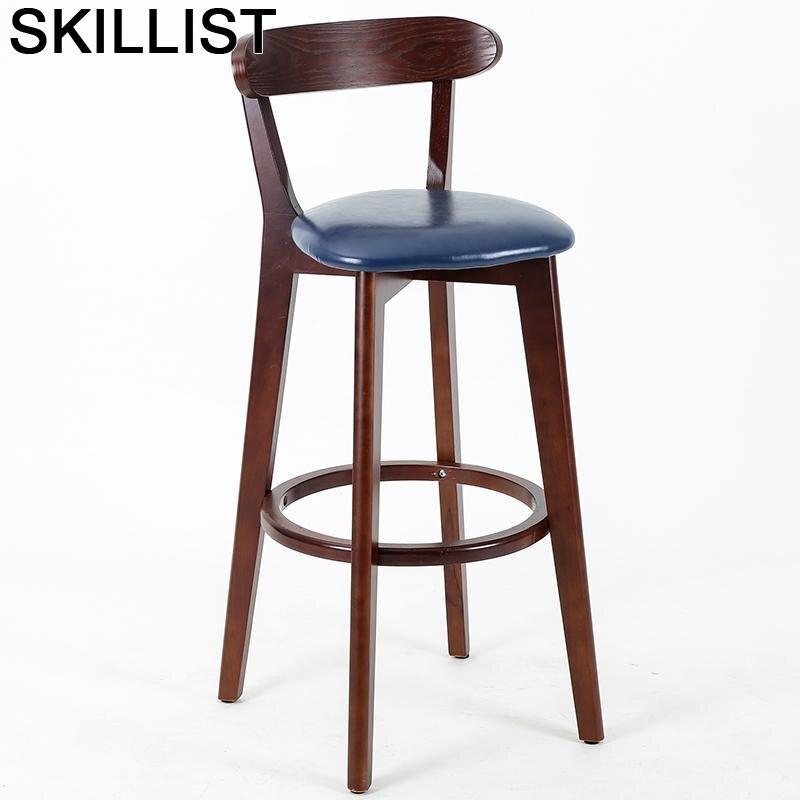 Stoel Barkrukken Sandalyesi Sedia Taburete Comptoir Sandalyeler Hokery Barstool Tabouret De Moderne Silla Stool Modern Bar Chair