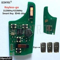 QCONTROL Car Control klucz zdalny płytka elektroniczna dla chevroleta 315MHz 433MHz ID46 Chip Keyless-go Comfort-access
