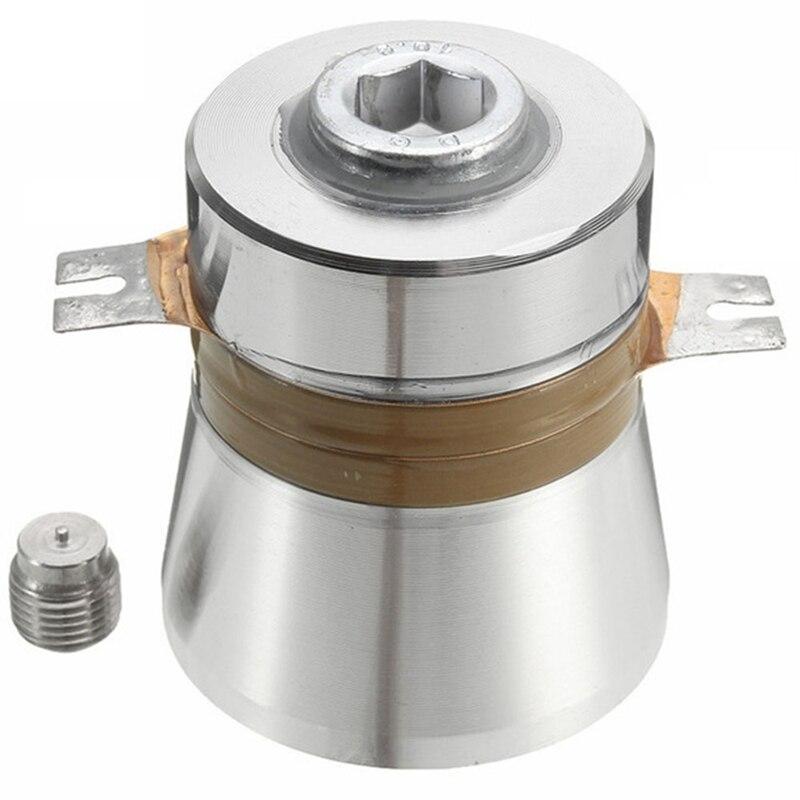 50W 40Khz yüksek dönüştürme verimliliği ultrasonik piezoelektrik dönüştürücü temizleyici yüksek performanslı akustik bileşenleri title=