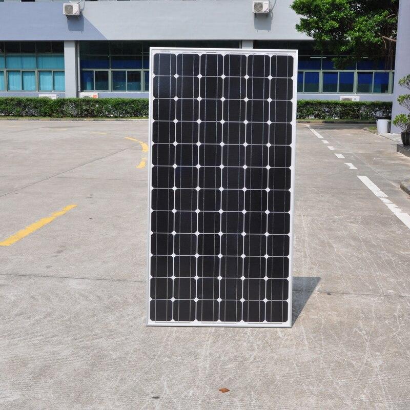 Panneau solaire monocristallin 300w 24v 10 pièces zonnepanel 3000w système solaire domestique 3KW chargeur de batterie solaire bateau de Yacht marin RV