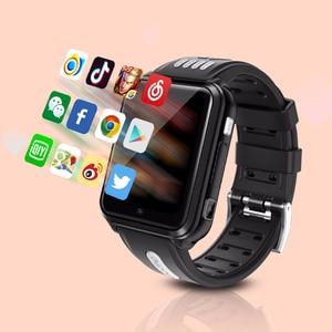 Image 3 - สมาร์ทนาฬิกาโทรศัพท์Android 4Gเด็กSmartWatchซิมการ์ดและการ์ดTF Dualกล้องนาฬิกาWifi GPSตำแหน่งquad Core