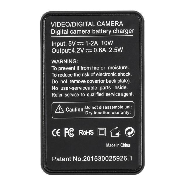 2x NP-BY1 Battery NPBY1 np by1 Batteries + LCD USB charger for Sony HDR-AS100v HDR-AZ1 AZ1VR AZ1VB AZ1VW Mini action camera