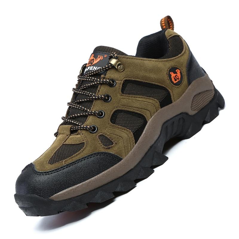 Men Women Outdoor Sports Hiking Shoes Rock Climbing Trekking Footwear Pro-Mountain Casual Sneakers Walking Wear Resisting Boots