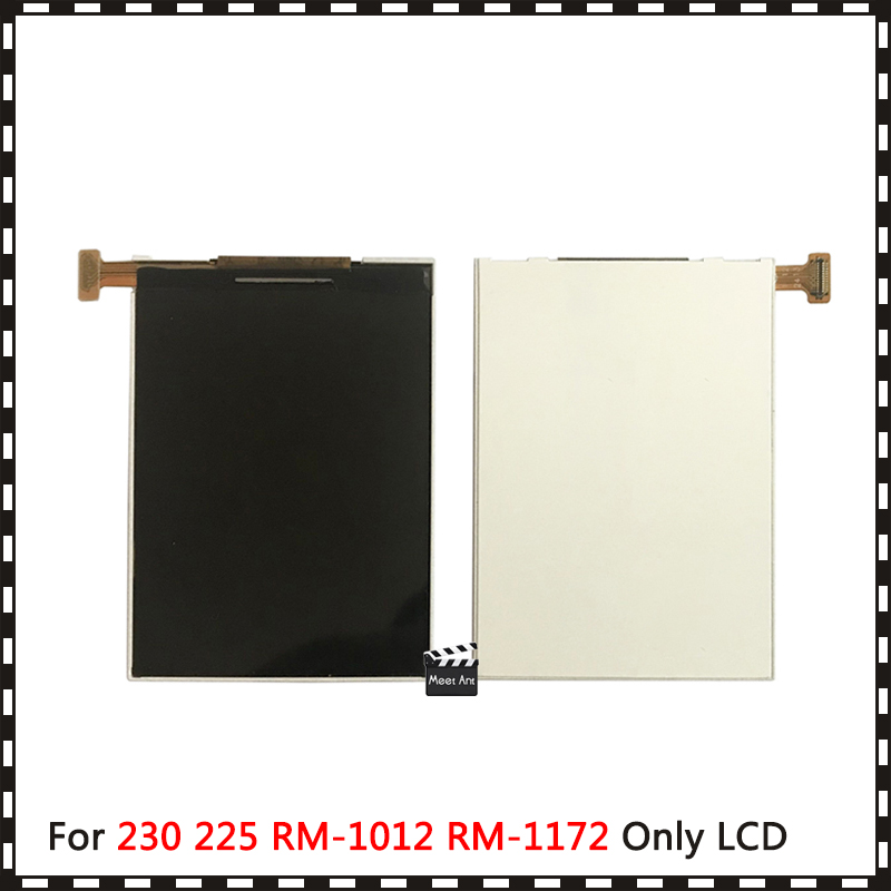 10pcs/lot For <font><b>Nokia</b></font> 230 225 RM-1012 RM-1172 RM-1126 Lcd Display Screen + Tracking code image