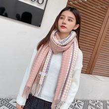 Осень зима 2020 новый шарф из искусственного кашемира шаль с