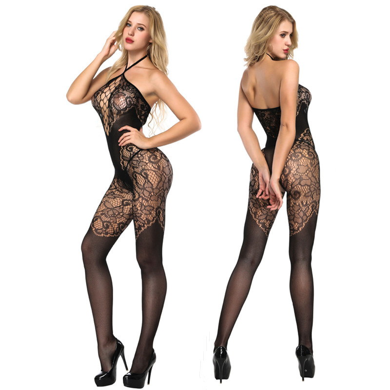 Rushed New Effect Womens Sexy Open Crotch Transparent Leggings Bodystocking Charming Hose Bodysuit Leggings Meia Lingerie