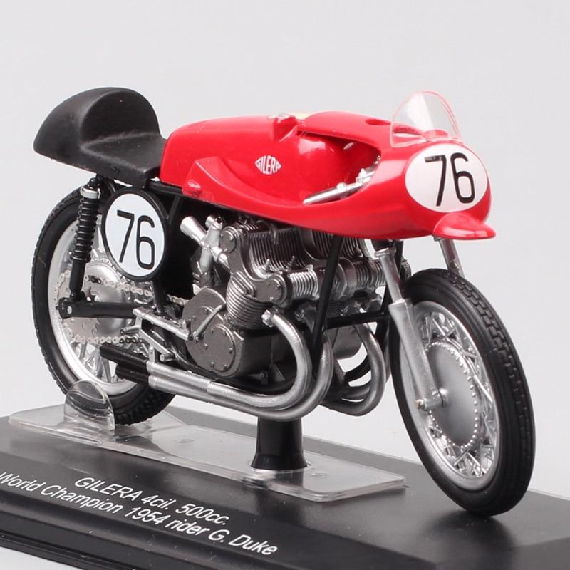 1:22 Scale Tiny Italeri Gilera 4cil 500cc World Champion 1954 No#76 G Duke Motorcycle Moto Diecasts & Toy Vehicles GP Bike Model