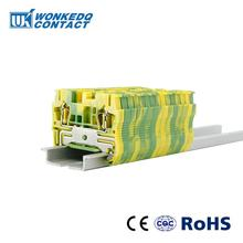 10Pcs ST-1.5PE Instead of PHOENIX CONTACT Connectors Return Pull Type Spring Cage Connection Ground Terminal Blocks Screwless