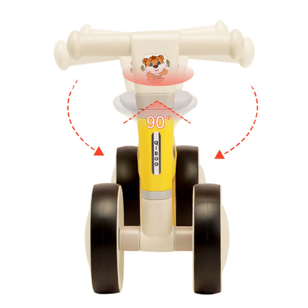 Hb4e7e56c5ec44435886f4ecf92fa6500v COEWSKE Baby Balance Bike Baby Walker Ride Baby's First Bicycle Birthday Gift for 1-2 Year Old Boys Girls Kids and Toddlers
