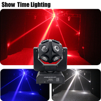 High Bright 12Pcs 10W RGBW 4 IN 1 Dj Led Moving Head Light Unlimited Rotate Good Effect Use For Party KTV Night Club Bar