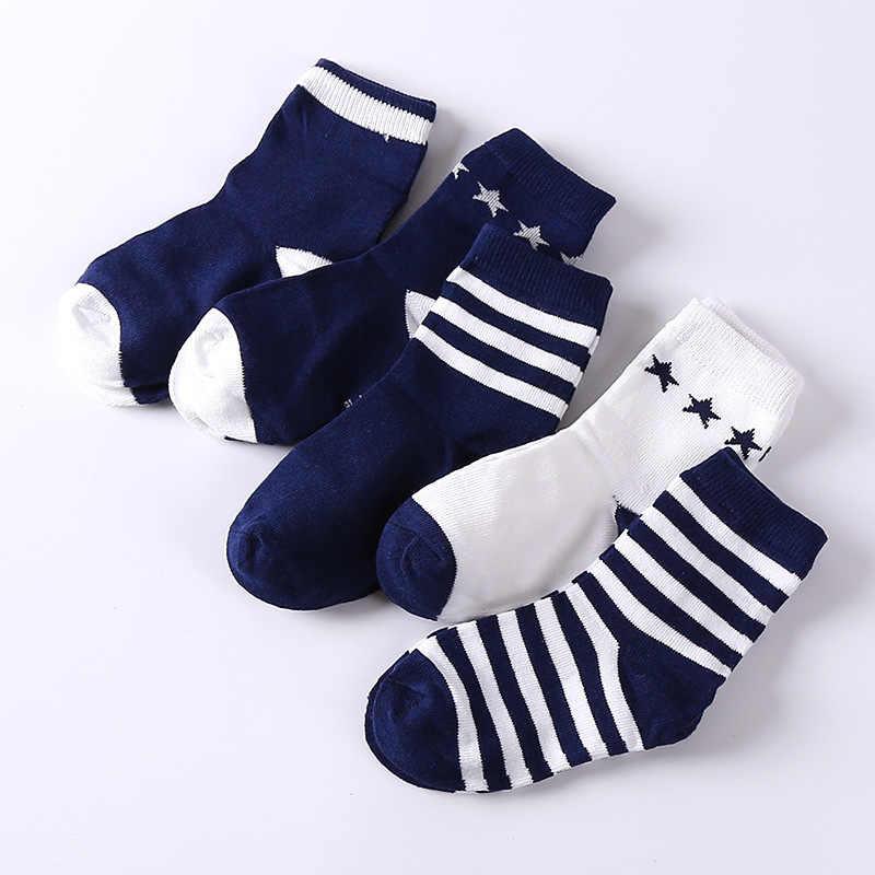 เด็กทารกถุงเท้า 5 คู่เด็กฤดูใบไม้ร่วงฤดูหนาวการ์ตูนถุงเท้าเด็กหญิงสำหรับหญิงกีฬาโรงเรียนเด็กสาวเสื้อผ้า