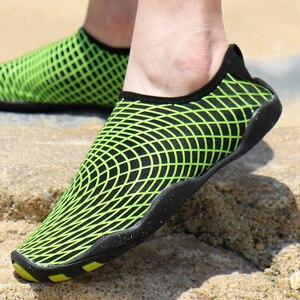 Image 3 - שכשוך שחייה נעליים בחוץ במעלה הזרם חוף נעליים קל משקל רך לנשימה neoprene צלילה נעלי לנשים גברים מים ספורט