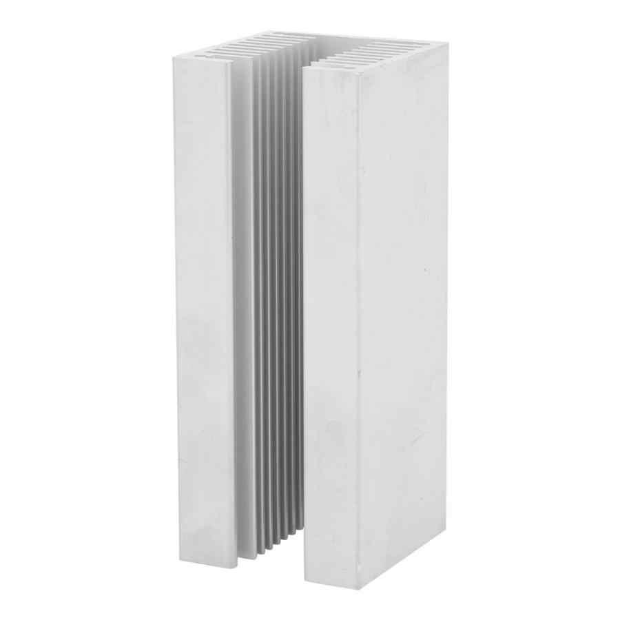 100 x 40 x 40mm Aluminum Heatsink U Type TO-3P Aluminum Heat Sink Heatsink Module Dense Tooth Heat Cooler Fin Cooling Radiator
