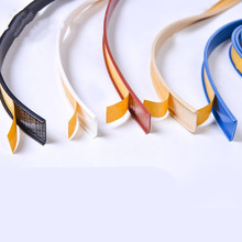 1 м самоклеящаяся мебельная облицовочная кромка лента для уплотнения резьбовых соединений 18 мм типа U шкаф PVC veneer листы защита кромок письме...
