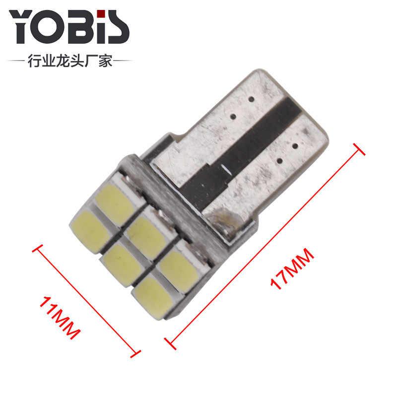 Mükemmel 'yüksek T10W5W çözme 6SMD5630 genişlik lamba AliExpress plaka lambası okuma lambası çözme Anti-Alarm