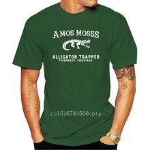 Amos Moses , Alligator Trapper Men'S T-Shirt, Jerry Reed Fan Shirt Retro Tee Shirt