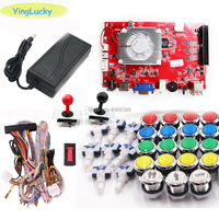 Pandora BOX KIT key 7 2263 in 1 arcade console game 2 players can add games HDMI VGA usb joystick for pc video game