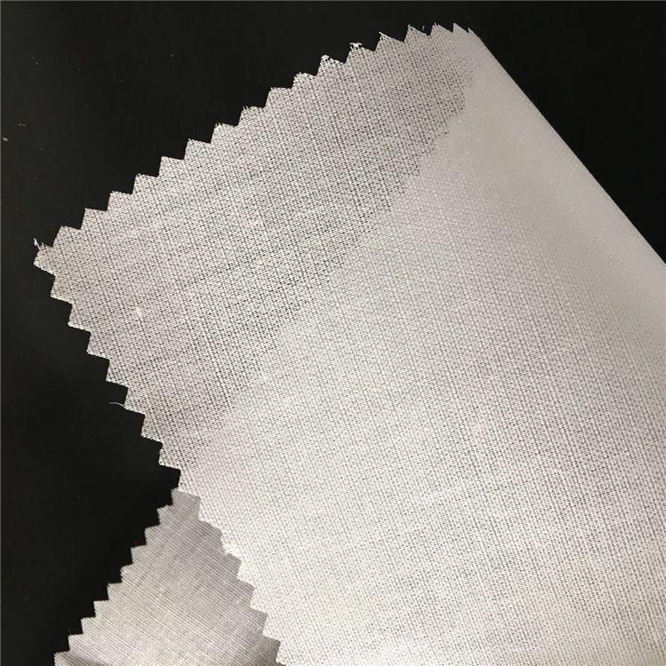 Akceptacji biletów między przewoźnikami lotniczymi 100% bawełna tkaniny topliwy żelazko na usztywniające materiał