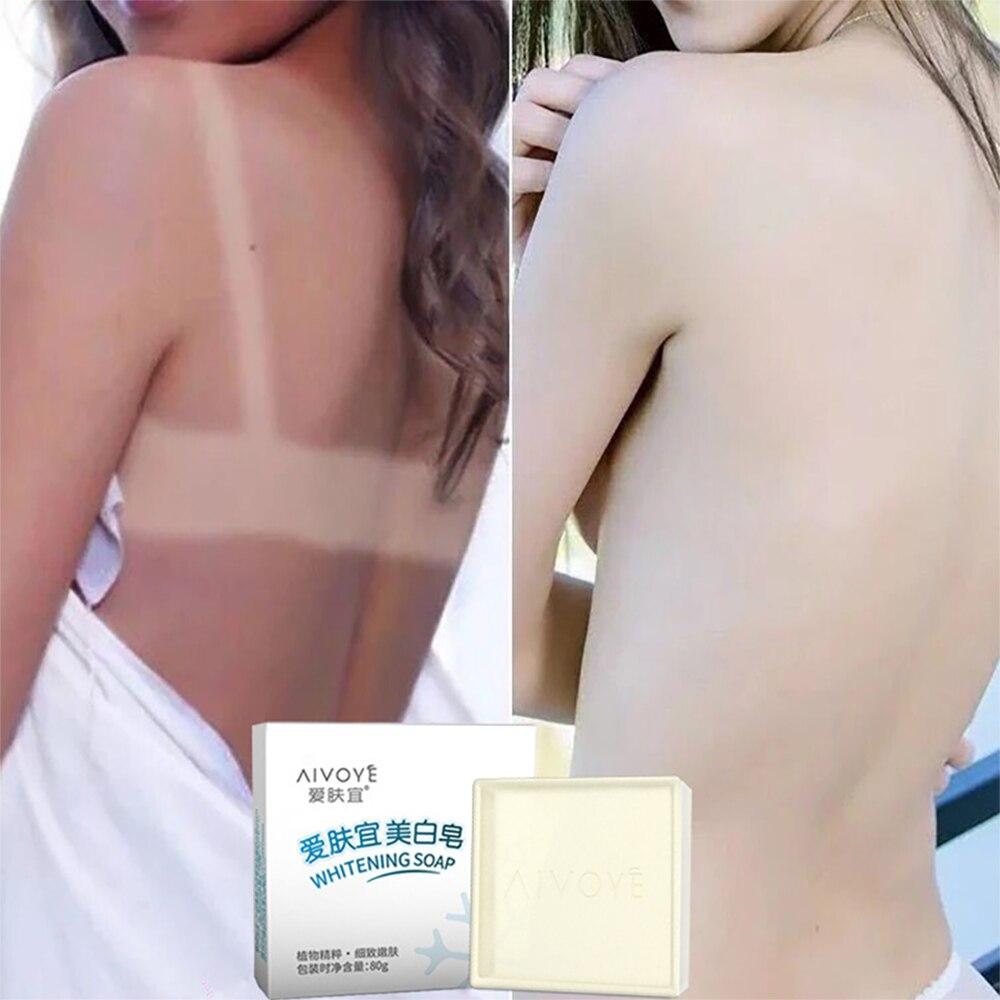 LAIKOU Goat Milk Whitening Soap Collagen Vitamin Skin Whitening Oil Control Removal Pimple Pores Acne Treatment Handmade Soap