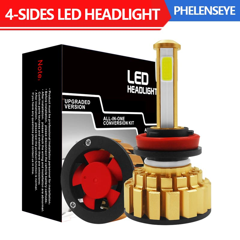 <font><b>H7</b></font> LED Headlight Kit H4 H11 9006 9005 300W 6000K Bright Headlight Bulbs Lamp G7 <font><b>30000LM</b></font> image